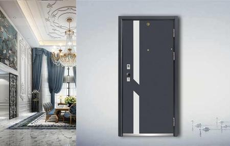 Fire-proof  Anti-theft door J9004