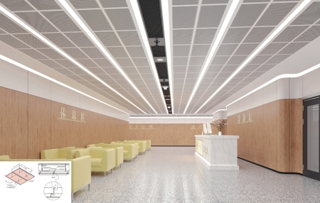 Metal Ceiling System