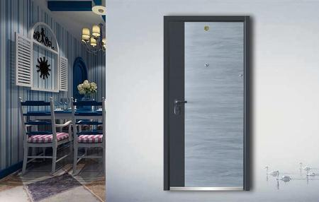 Fire-proof  Anti-theft door J7008