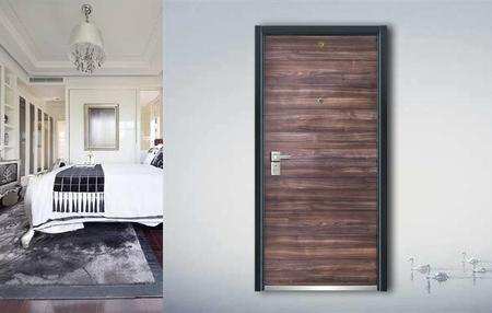 Fire-proof  Anti-theft door J7007