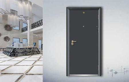 Fire-proof  Anti-theft door J7006