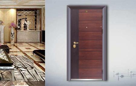 Fire-proof  Anti-theft door J9008
