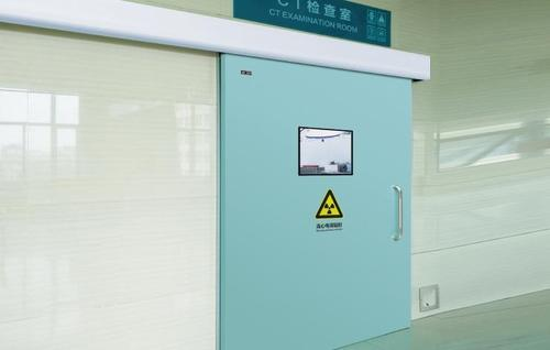 Radiation protection door